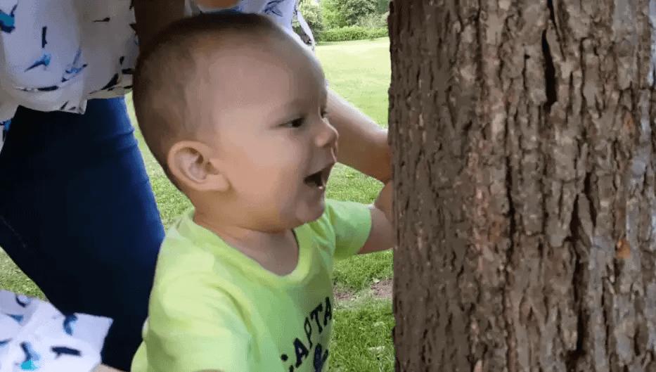 Jorge Daniel en el parque | Las Recetas de Laura