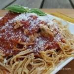 Spaghetti a la bolognesa   Las recetas de laura