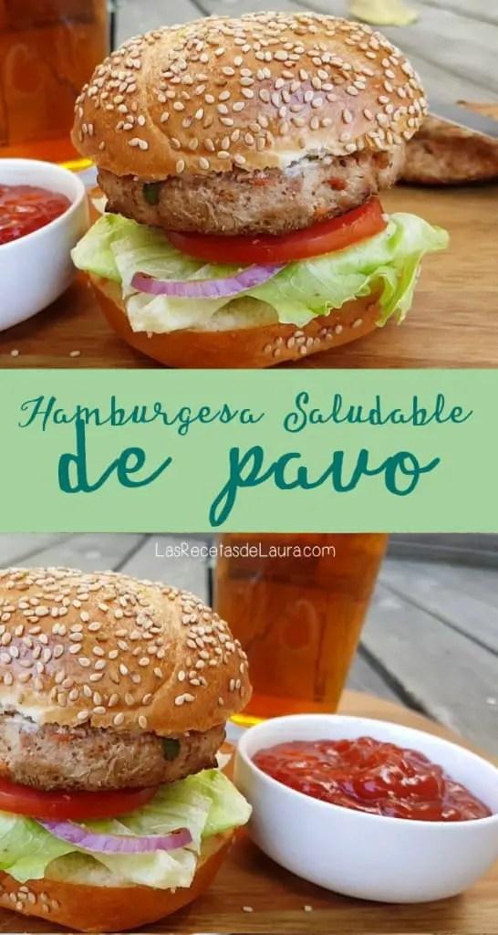 Hamburguesa de Pavo | Las Recetas de laura