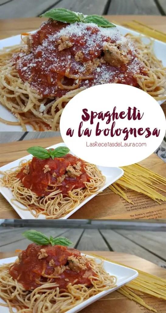 Spagueti a la Boloñesa | Las Recetas de Laura