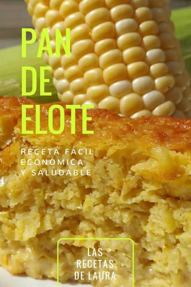 Pan de Elote Light | Las Recetas de Laura