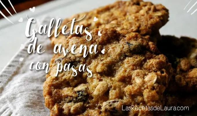 Galletas De Avena Con Pasas Light Las Recetas De Laura