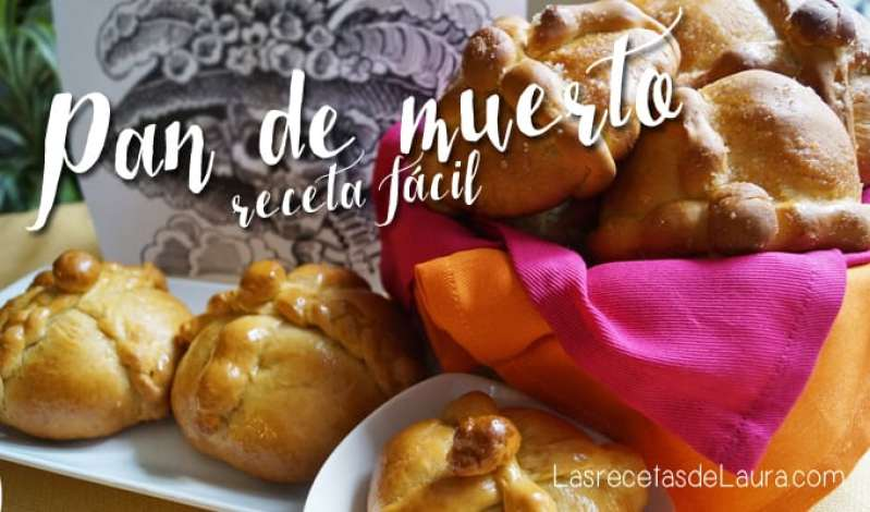 Pan de Muerto Fácil | Las Recetas de Laura
