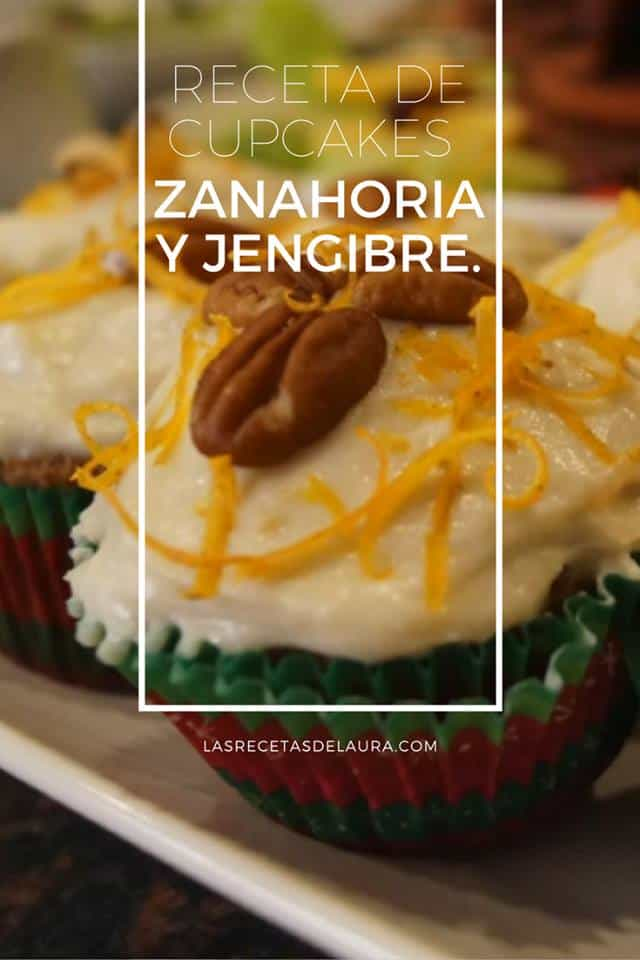 CUPCAKES DE ZANAHORIA - LAS RECETAS DE LAURA