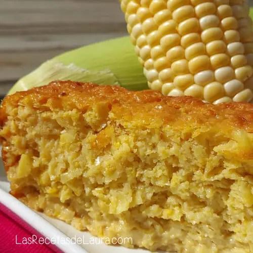 Pan de Elote Saludable | Las Recetas de Laura