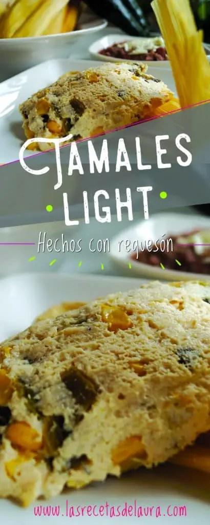 Tamales light - las recetas de Laura