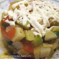 Chayotes a la mexicana - las recetas de Laura