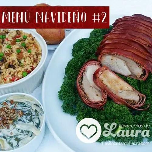 menu navideño . las recetas de Laura