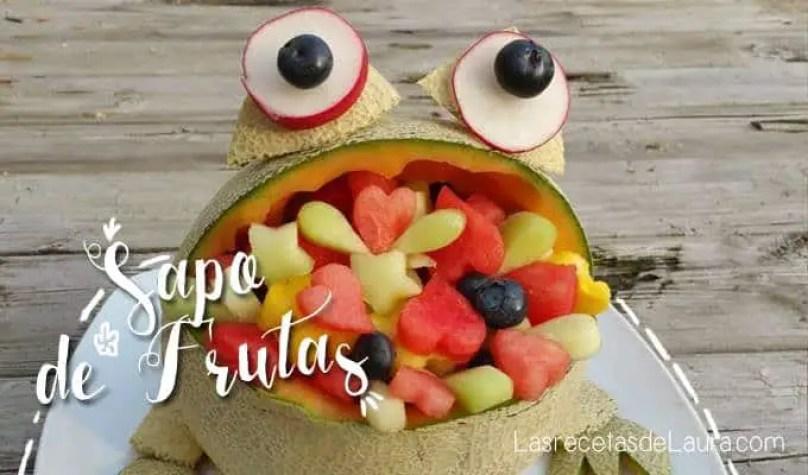 Arreglo frutal de melón - las recetas de Laura