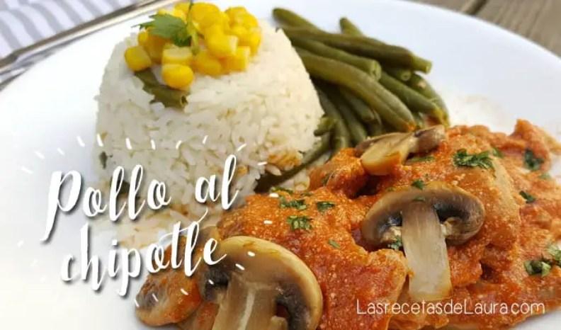 Pollo al chipotle - las recetas de Laura