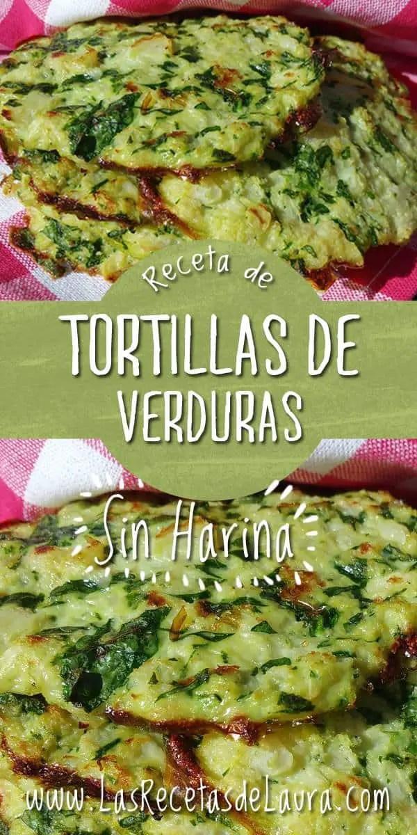 Tortillas sin harina - las recetas de Laura