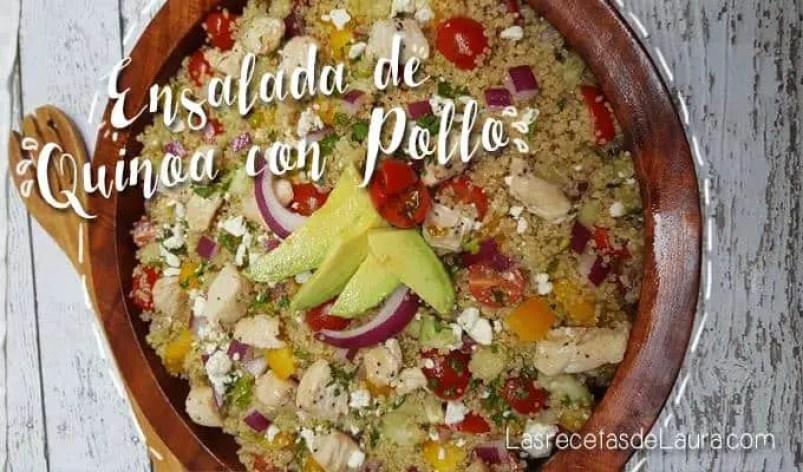 Ensalada de quinoa - Las recetas de Laura