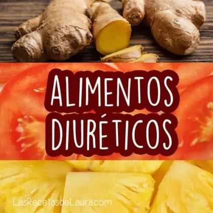 alimentos diuréticos - las recetas de Laura