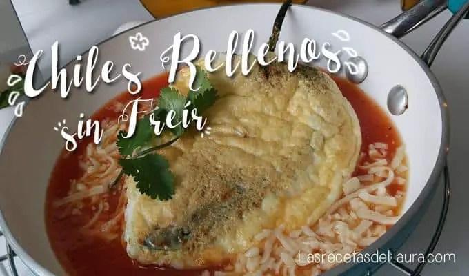 Chiles rellenos saludalbes - las recetas de Laura