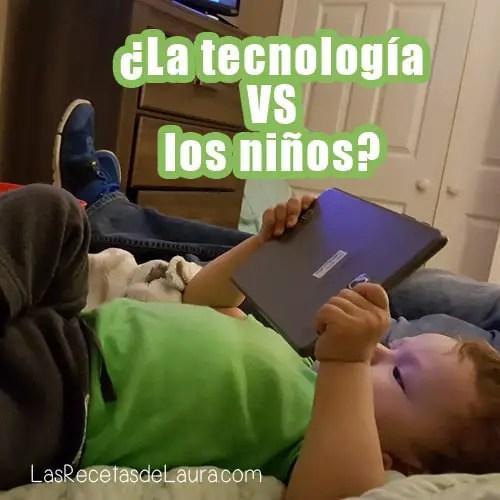 La tecnologia vs los niños