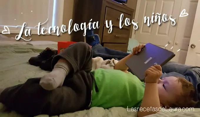 La tablet es buena para los niños