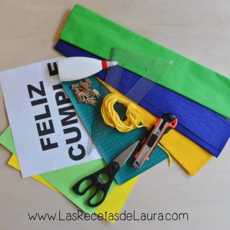 Banderas - Las Recetas de Laura