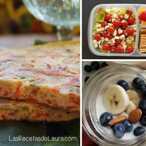 Desayunos faciles - las recetas de Laura