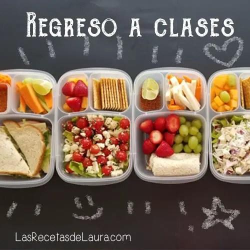 Lunch para la escuela - las recetas de Laura