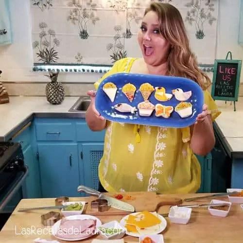 Sandwich kawaii - Las recetas de Laura
