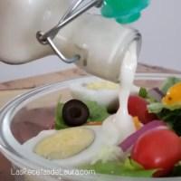 Aderezo de yogurt - las recetas de Laura