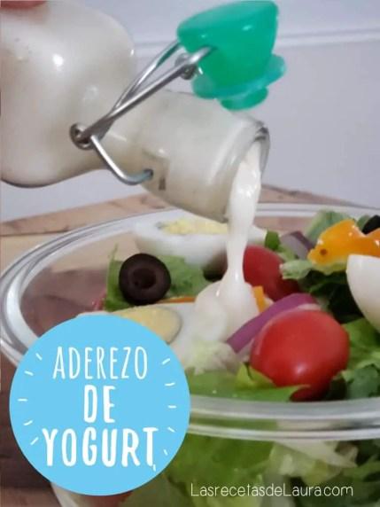 Aderezo de yogurt para ensaladas - las recetas de Laura