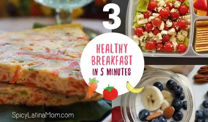 HEALTHY BREAKFAST - SPICY LATINA MOM