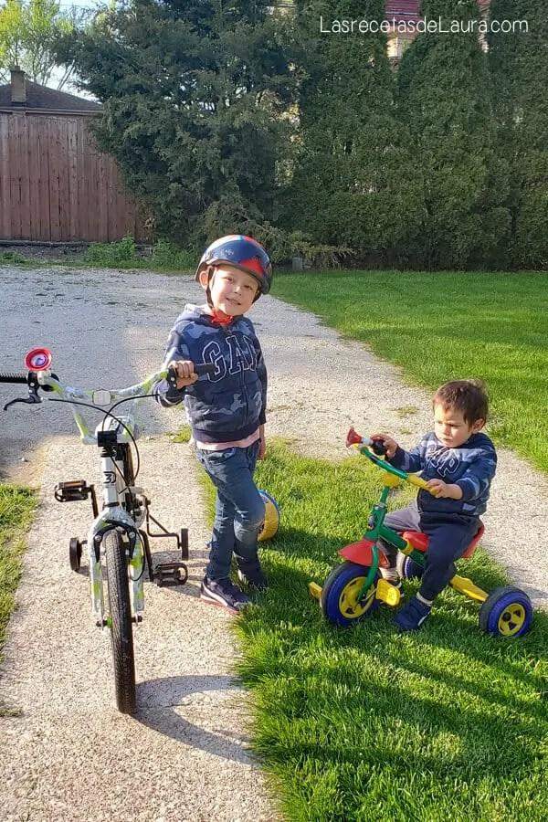 Como elegir la bici para niños