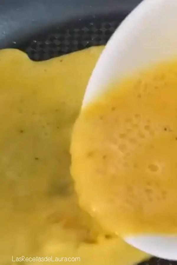 Como se hace el omelette