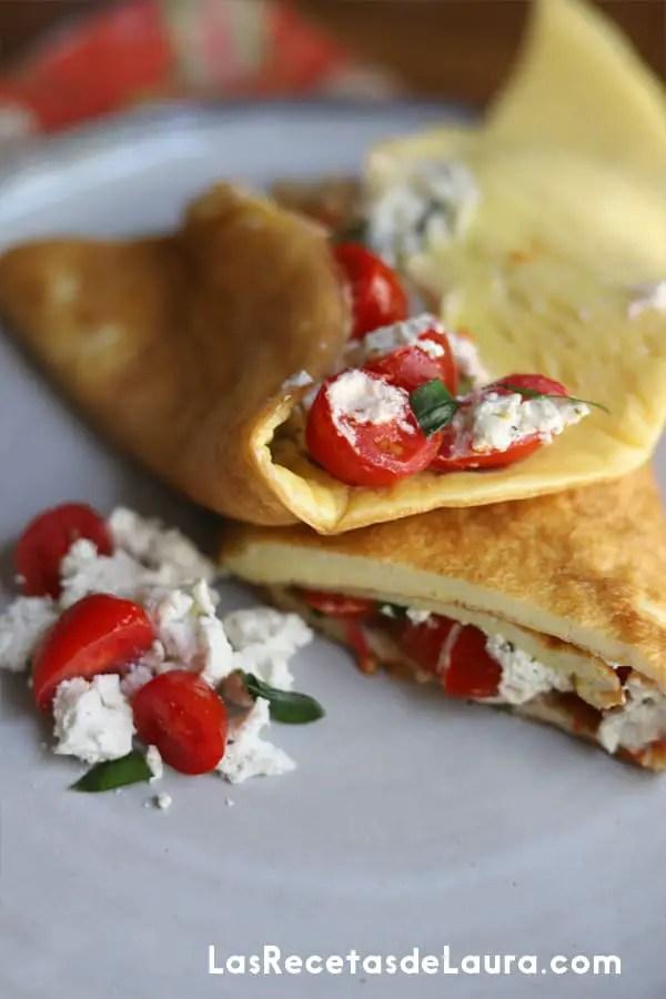 Omelette mediterraneo