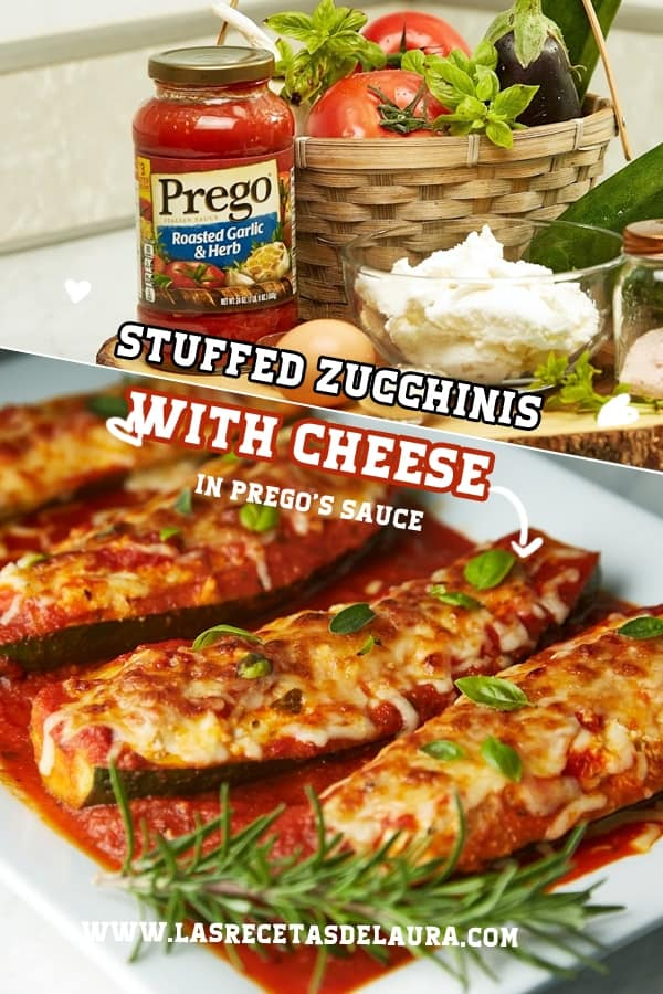 stuffed zucchinis with cheese