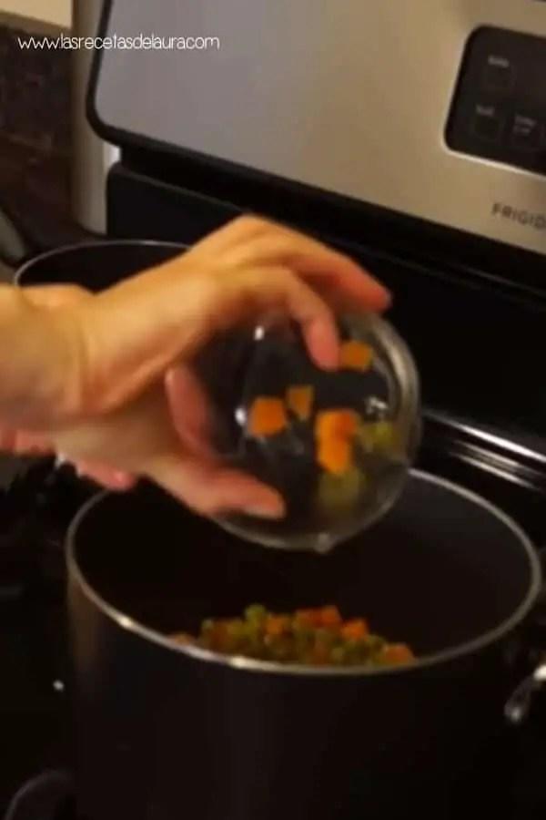 Receta de arroz saludable
