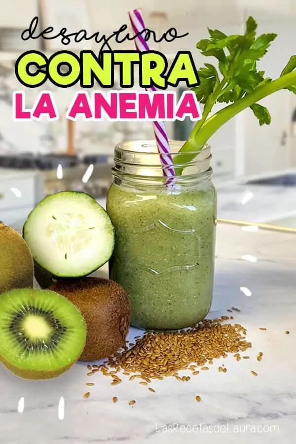 Desayuno contra la anemia