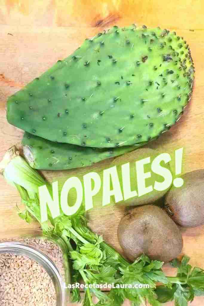 nopales cactus benefits