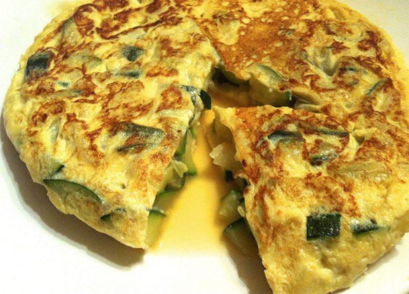 tortilla de calabacin