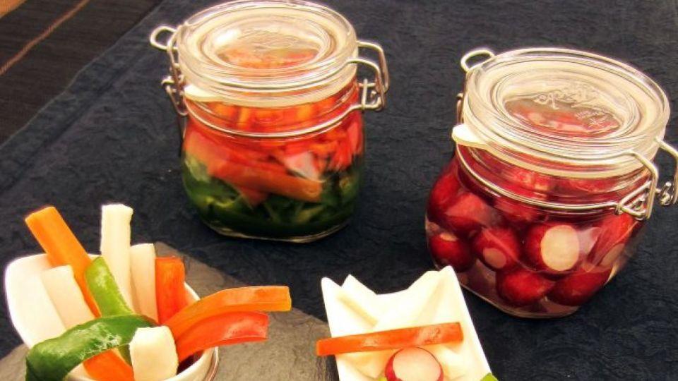 Para cuidar el hígado: Pickles de Rábano