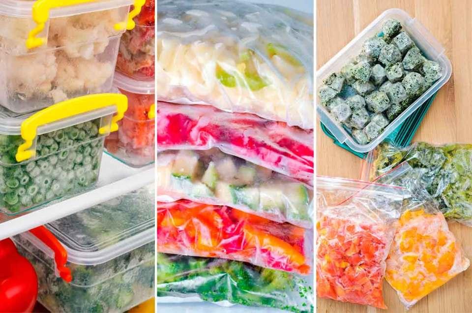 Alimentos que se pueden freezar