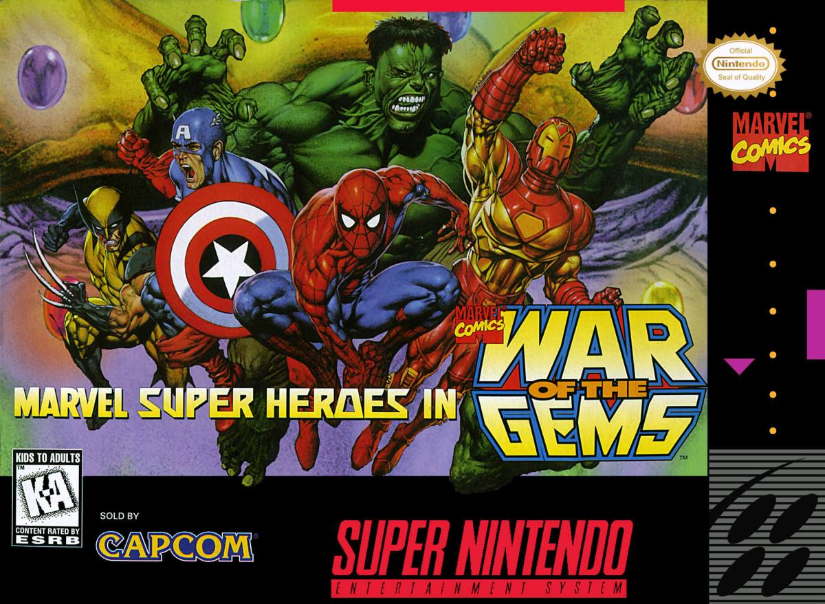 Clásicos: Marvel Super Heroes - War of the Gems