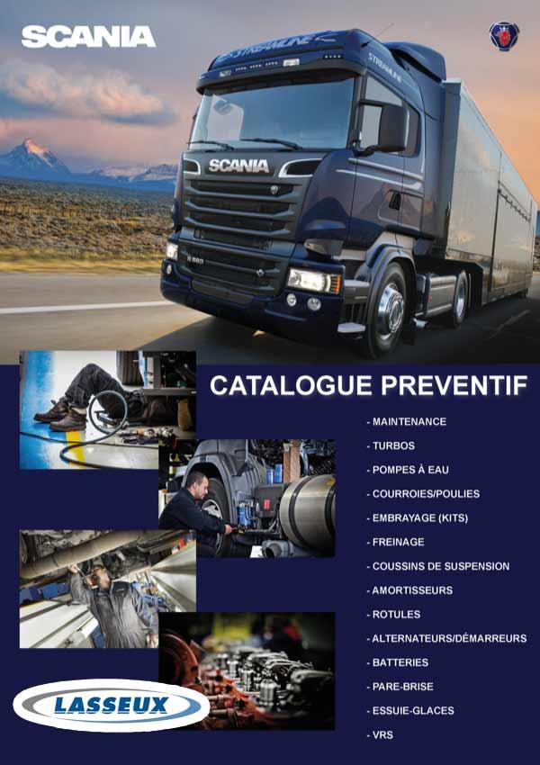 Catalogue Préventif Scania