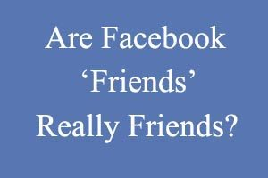 Are Facebook friends really friends? Ruchi Kalra explores social media in her blog on Lassi with Lavina