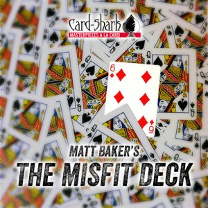 THE MISFIT DECK by Matt Baker - LASSONELLAMANICA.COM - Mazzi di Carte, Giochi di Prestigio, Libri e Dvd di Magia. Recensioni, unboxing, tutorial!