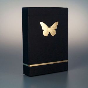 Butterfly Black & Gold Marked