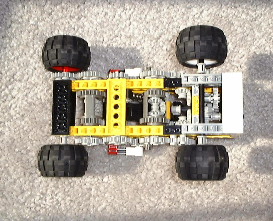 Mechanical Three Speed Automatic Lego Transmission Lego Automatic Transmission