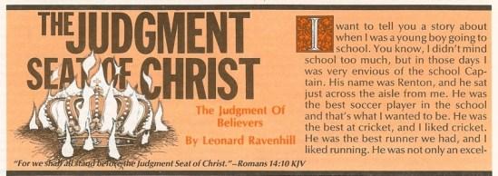 Seat of Christ