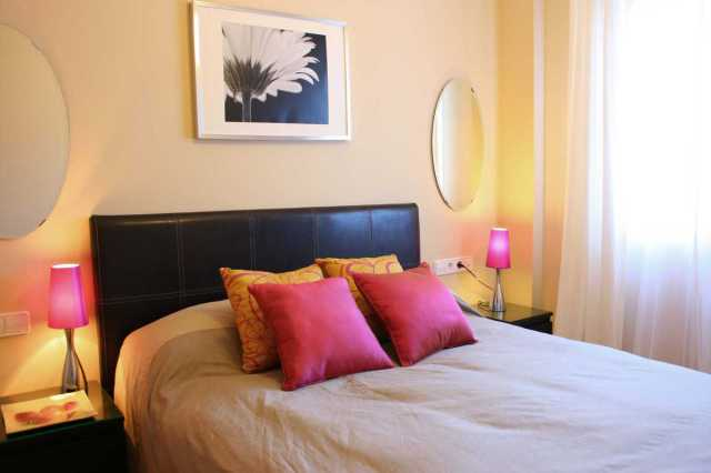 Appartement Malaga slaapkamer