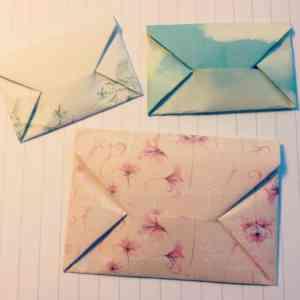 Lees meer over het artikel DIY: Origami envelope