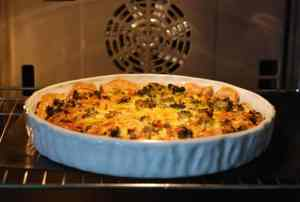 Recipe: broccoli cheese quiche