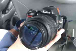 My first DSLR: Nikon D60