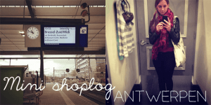 Mini shoplog: Antwerpen