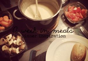 Dinner inspiration